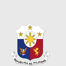 Seal of the Republic of the Philippines - Monochromatic